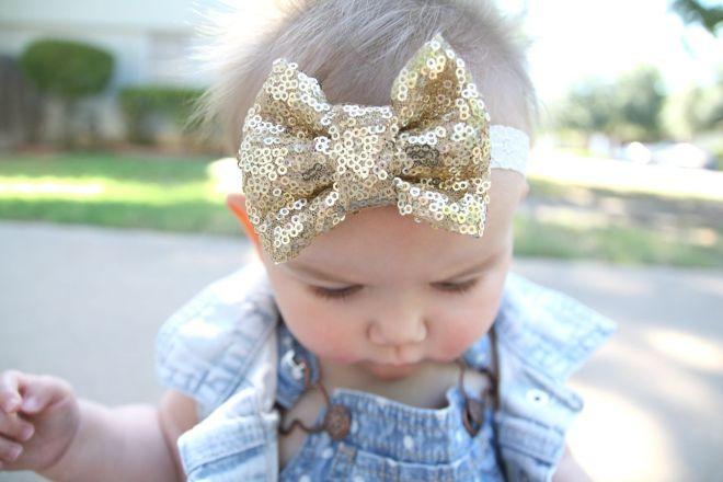 gold headband | bebewears.com
