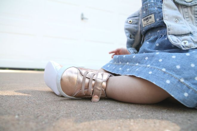 rose gold baby shoes | bebewears.com