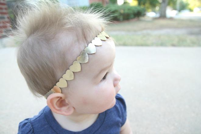heart headband | bebewears.com